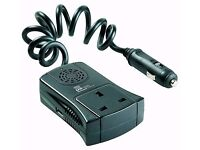 Ring Powersource Inverter [ Compact 120W / USB-2A ] 12V DC to 240V AC Mains Power