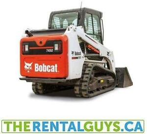 Bobcat Rentals - FREE DELIVERY and PICK UP !!!