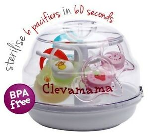 Clevamama Microwave Soother Pacifier Tree Steriliser