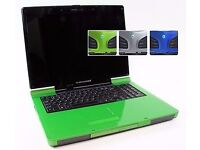 ALIENWARE M9700 GREEN & BLACK GAMING LAPTOP, DOUBLE GRAPHIC CARD!!