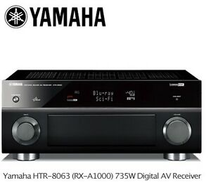 Yamaha HTT-8063 Home Theatre Receiver