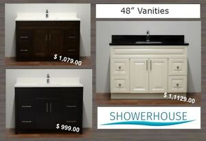 "Bathroom Vanity, 48"" Best Price, more Vanities in many sizes"