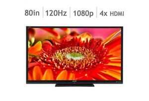 "Sharp Aquos LC-80LE642U 80"" Smart 1080p LED"