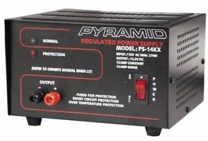 POWER SUPPLY 5 AMP, 10 AMP, 12 AMP , 13.8 VOLT POWER SUPPLY AND POWER INVERTER