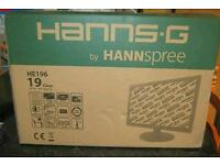 "Hanns G 19"" screen brandnew in box"