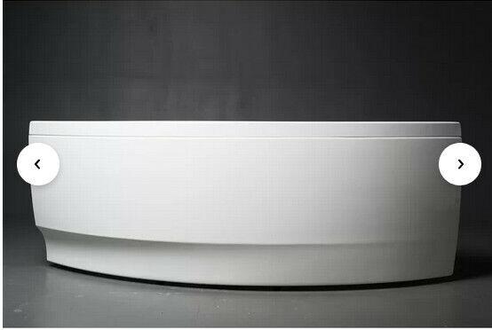CORNER SOAKING BATHTUB Wind by Neptune White New still in Box   30x60