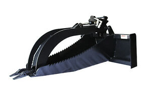 Jenkins HEAVY DUTY Stump Bucket Grapple Skidsteer Attachment