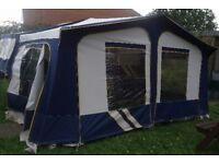 Pennine fiesta 2002 2+2 trailer tent/folding camper