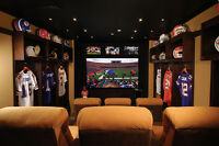 Design and Build your Man Cave Today!