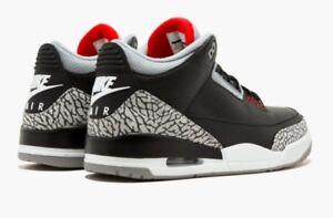"""Air Jordan """"Black Cement"""" 3s"""