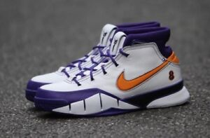 Nike Kobe protro 1 laker colorway size 9 and 10