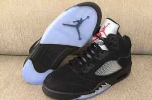 Jordan 5 Black Metallic 2016 sizes 9 and 11 deadstock