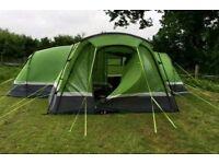 Hi Gear Zenobia 6 person Tent, Porch, Carpet and Footprint bundle