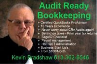 AUDIT READY BOOKKEEPING, PAYROLL, & TAXATION
