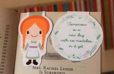 Anne of Green Gables Magnetic Bookmarks | L M Montgomery | Children's Classic](Children's Bookmarks)