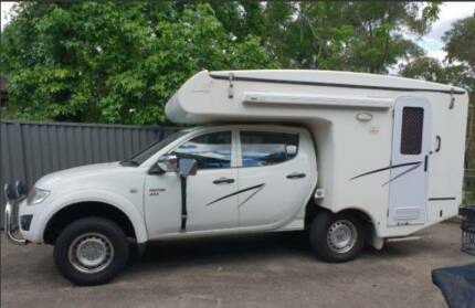 Mitsubishi Triton 4x4 - Talvor OUTBACK CAMPERVAN Glenbrook Blue Mountains Preview