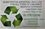 EURO MOTOR SERVICING ( ELV ) LTD