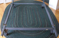 Heavy Duty Metal Bedframe/Bed Frame on Wheels
