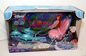 Arial's Dolphin Chariot