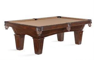***Brunswick 8ft Table with Conversion Top and Accessory Kit***
