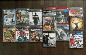 PlayStation 3 (PS3) 15 Game Lot