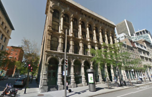 Office Space for Lease on the Prestigious McGill Street