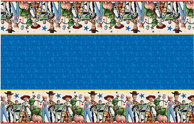 Toy Story Tablecloth (Disney Toy Story 4 HAPPY BIRTHDAY plastic TABLECLOTH party supplies table)