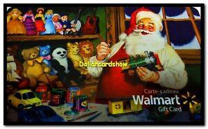 WALMART-CHRISTMAS-SANTA-DOLL-COLLECTION-COLLECTIBLE-GIFT-CARD