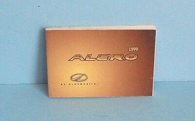 99 1999 Oldsmobile Alero owners manual