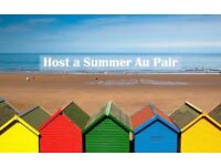 French au pairs available for the summer holidays