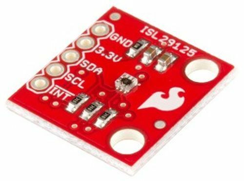 RGB Light Sensor Board, ISL29125, 3.3V, I2C/SMBus, 16-bit ADC
