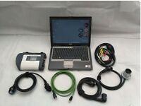 MB SD Connect C4 2016/07 Dealer level Mercedes Smart Diagnostics Laptop