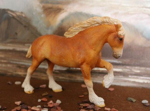 Vintage Breyer Custom Little Bit  Horse Chestnut Draft Horse by Jan Stevens 1992
