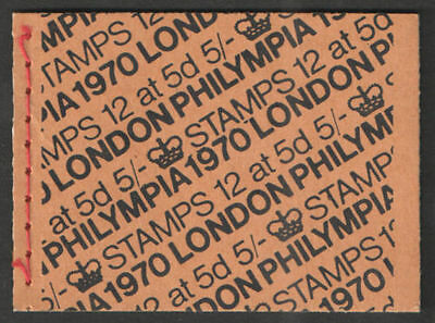 HP34 5/- Booklet LONDON PHILYMPIA 1970