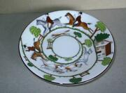 Crown Staffordshire Hunting Scene