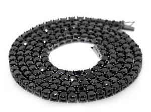 mens custom black drip long listing pendant chain necklace il