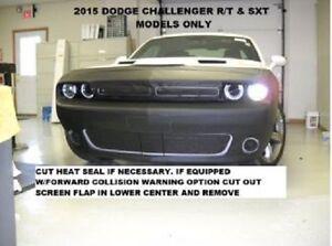 Lebra Front End Mask Cover Bra Fits 2015-2017 Dodge Challenger R/T & SXT models