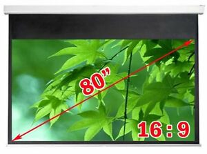 ^New Antra Electric Projection Screen One Year Warranty SAVE$$$