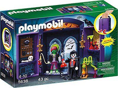 PLAYMOBIL Aufklapp-Spiel-Box Monsterburg Spielzeugfiguren Spielwelten  Spielzeug