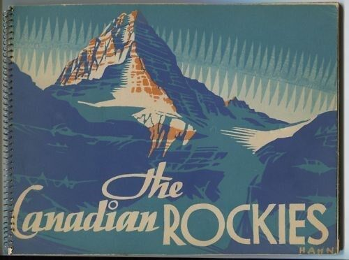 Canadian Rockies Byron Harmon Colored Vandyck Photos