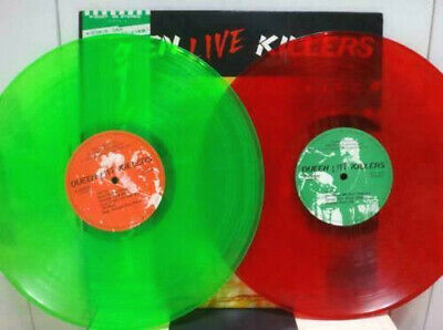 "Usado, QUEEN ""Live Killers"" 1979 Japan ONLY 2Lp RED/GREEN COLOR VINYL Lp w/Obi MERCURY comprar usado  Enviando para Brazil"