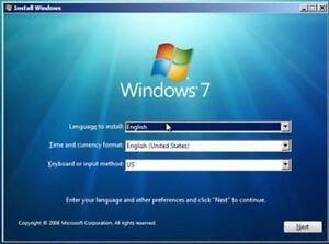 WINDOWS 7 (Ultimate, Starter, Home, Pro 32-64 Bit ( WITH SP1) ReINSTALL DVD w/HD