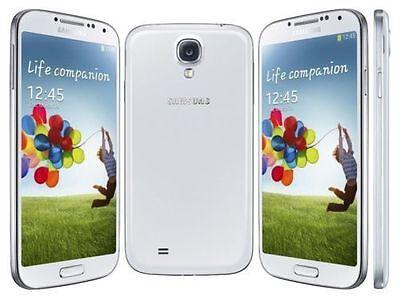 "Unlocked 5"" Samsung Galaxy S4 AT&T SGH-I337 phone 4G LTE 16GB Smartphone white"
