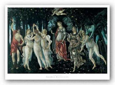 Primavera Sandro Botticelli Museum Art Print 19.5x14.25