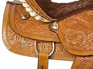 """15"""" 16"""" 17""""  Western Saddles Wade Cowboy Ranch All Leather $697 London Ontario image 5"""
