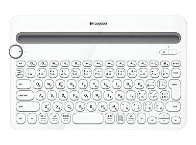 LOGICOOL Bluetooth multi-device keyboard white k480 from Japan F/S