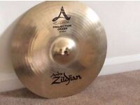 "Zildjian Avedis A Projection 16"" Crash Cymbal (Free P+P)"