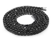 Mens Black Diamond Necklace