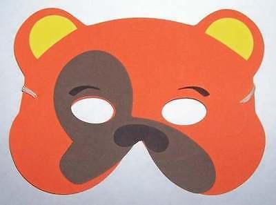 NEW Animal Bear Dog foam mask - Halloween costume - Halloween Bear Dog