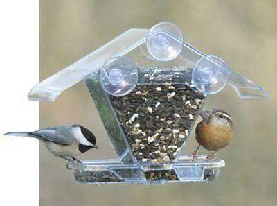 ASPECTS WINDOW CAFE 155 SEED WINDOW BIRD FEEDER ASPECTS155